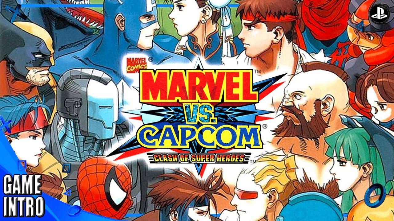 Resultado de imagen para Marvel vs Capcom 1998