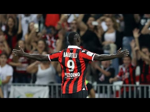 Mario Balotelli debut for Nice vs Marseille HD 11/9/2016