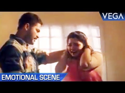 Kazan Khan Kills His Wife    Pudhu Nilavu Tamil Movie    Emotional Scene