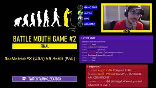 ONLINE BEATBOX : BATTLE MOUTH GAME #2