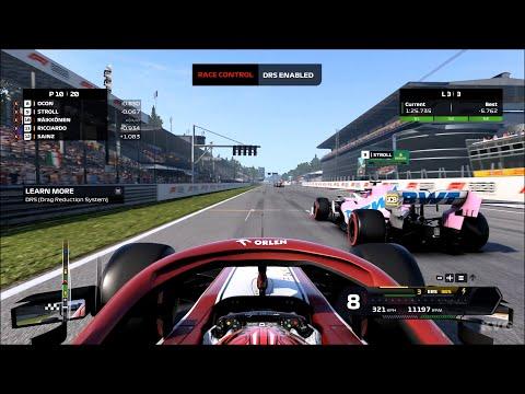F1 2020 - Autodromo Nazionale di Monza - Monza (Italian Grand Prix) - Gameplay (PC HD) [1080p60FPS] |