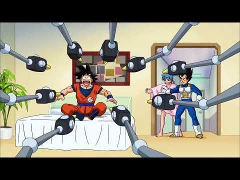 Goku ve a Bulma Desnuda y Le dice que tiene las TETAS CAIDAS/Dragon ball Super HD Latino