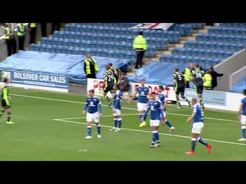 Chesterfield 2 - 2 Carlisle United - match highlights