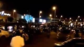 بالفيديو.. هروب رواد مول العرب بـ أكتوبر بعد أنباء عن وجود قنبلة