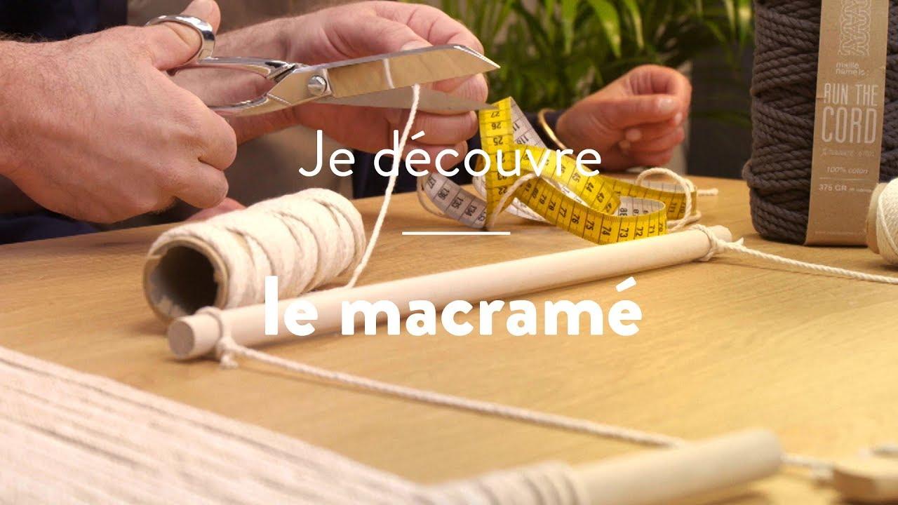 Quelle Ficelle Pour Macramé comment faire du macramé ? - cultura