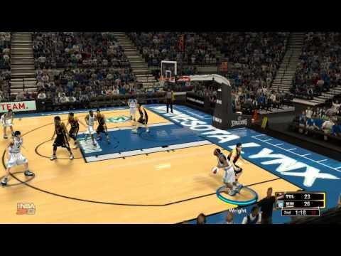 NBA 2K13 - WNBA Mod Tulsa Shock vs Minnesota Lynx (no commentary)