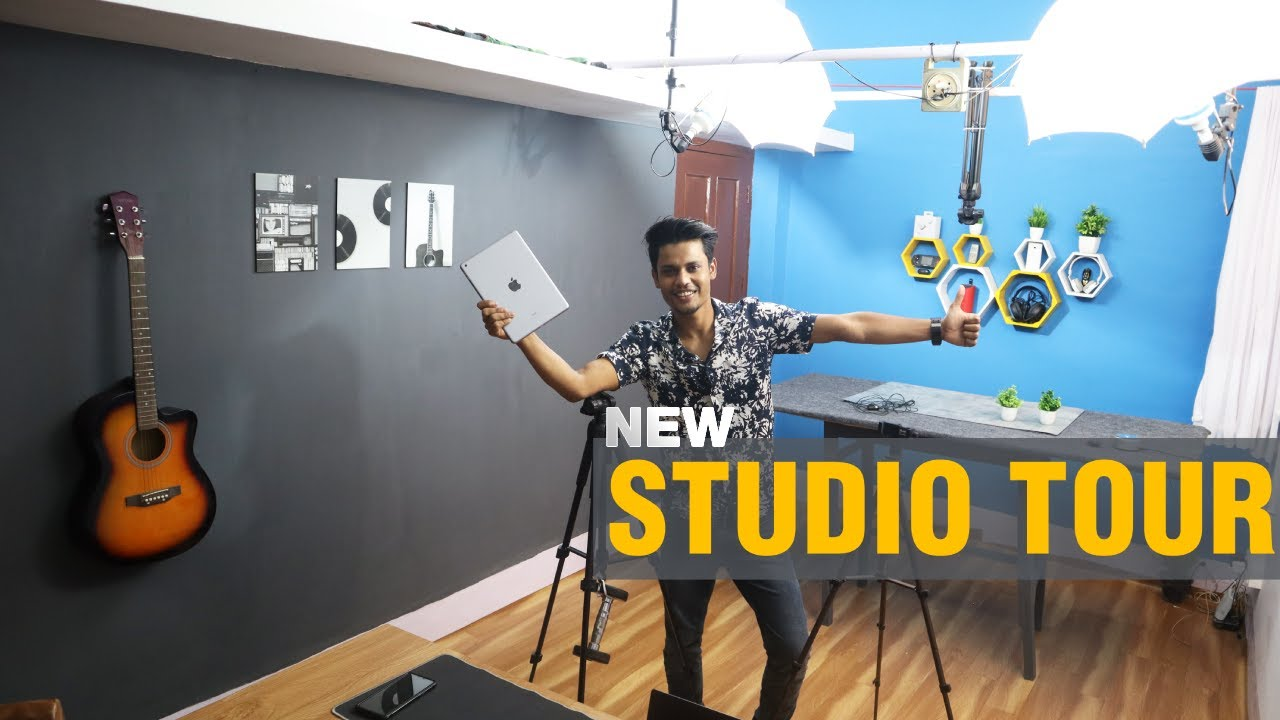 YouTube Studio & Setup Tour 2021  YouTube Room Setup Ideas For 2021 Best YouTube Setup Tour