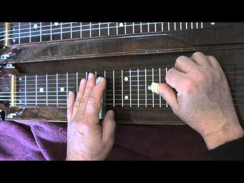 Lap Steel Guitar Lesson EZ-Speed-Picking C6th Tuning