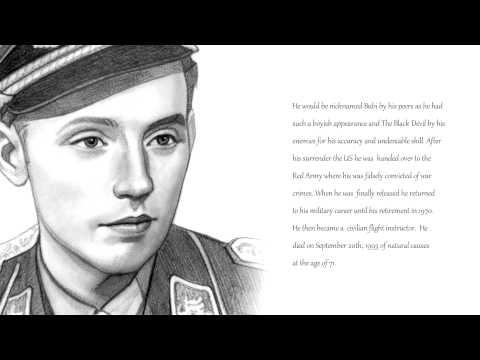 Erich Hartmann Famous Pilot Video