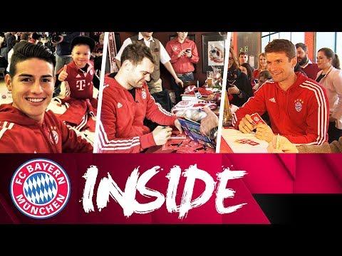 Neuer, James and Mller visit FC Bayern Fan Clubs! | Inside FC Bayern