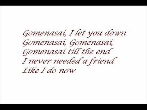 T.A.T.U. - Gomenasai Instrumental with lyrics