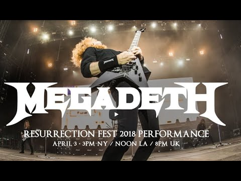 "Megadeth post live stream 2018 - Testament new video - new Haken ""Prosthetic"" - new Vader - Carcass"