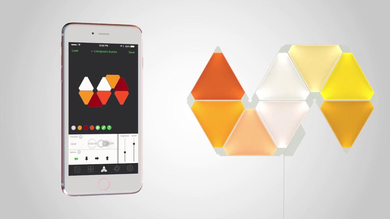 Nanoleaf Aurora Product Video