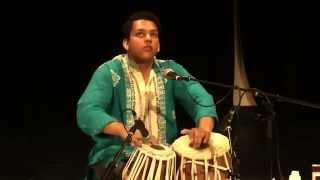 Arka Tito Basu - Tabla - Sangeet Mela 2014