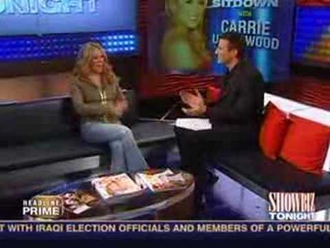 Carrie Underwood - CNN Showbiz Tonight