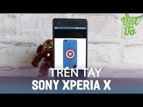 Vật Vờ| Trên tay & đánh giá nhanh Sony Xperia X: 13.990.000đ, Snapdragon 650