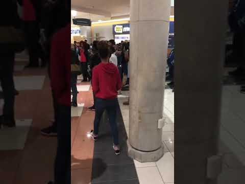 Large fight at Hanes Mall