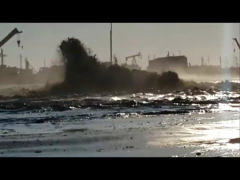 Экологическая катастрофа на Каспии.