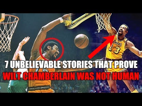 7 UNBELIEVABLE Stories That Prove Wilt Chamberlain Was INHUMAN!