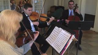 Handel: Let The Bright Seraphim - Trumpet and String Trio