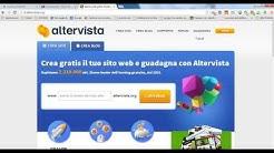 AlterVista - Crea la tua Chat personale con AlterPages