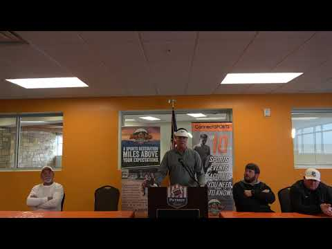 Patriot Bowl Media Day - Coach Bobby Carr - Autauga Academy