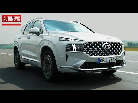 Hyundai Santa Fe (2021): новая платформа и внешность! Все подробности