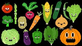 Vegetables - Learn Veggies - Veggie Song - The Kids' Picture Show (Fun & Educational Learning Video)