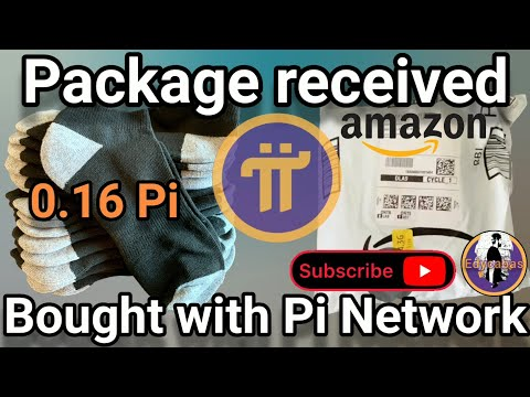 Pi Network - I bought a product with Pi coin and #Amazon delivered it... watch until the end!
