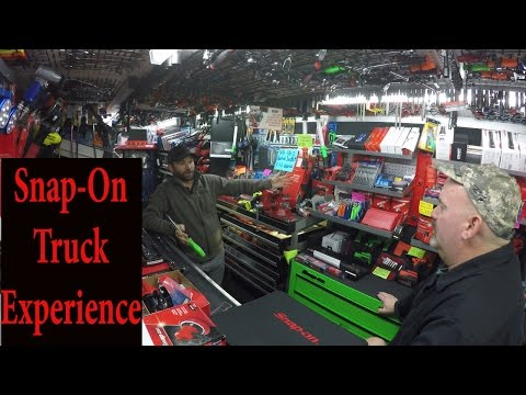 Snap-On Tool Truck Experience