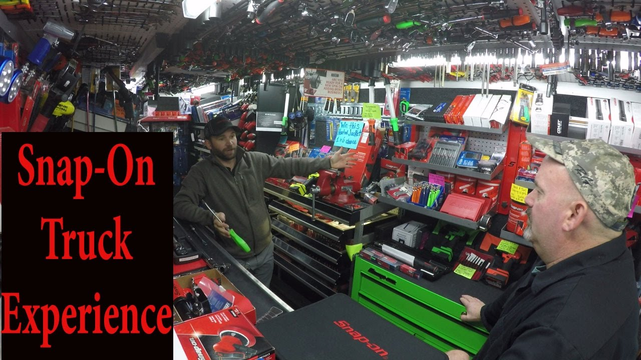 Snap On Tool Truck Experience Youtube