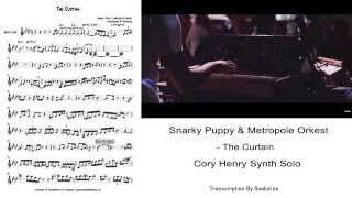 Snarky Puppy & Metropole Orkest - The Curtain(Cory Henry Synth Solo) Transcription by Snake Lee
