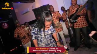 Download Video ACTRESS NKECHI SUNDAY SHAKES HER BACKSIDE CAUSING GOBE AT FOLUKE DARAMOLA'S BIRTHDAY MP3 3GP MP4