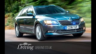 Driving Skoda's bulletproof, blast-resistant Superb Estate