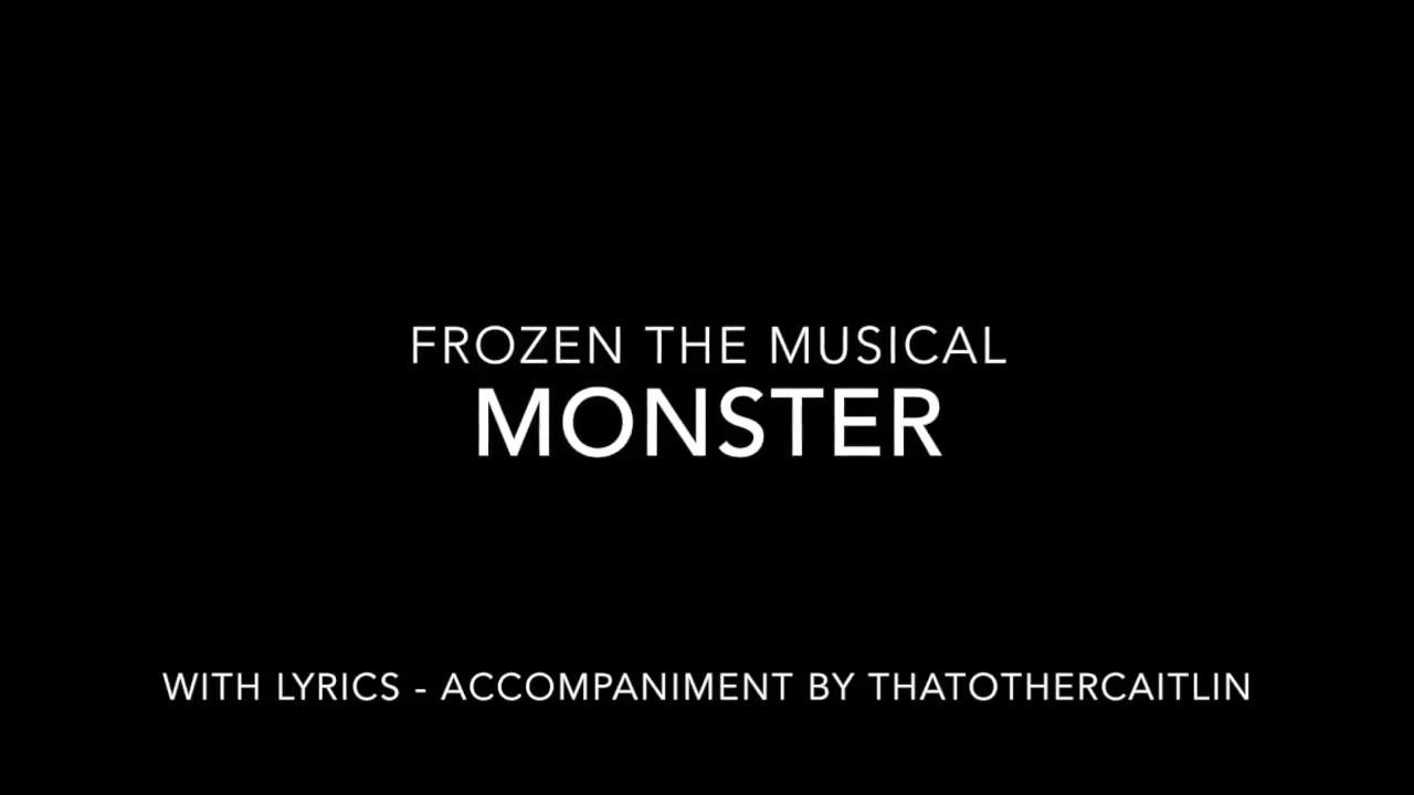 monster lyrics frozen