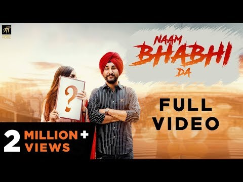 Naam Bhabhi Da | Amantej Hundal | Harry Jordan | Latest Punjabi Song 2018 | Humble Music