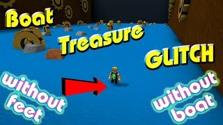 Roblox Build A Boat For Treasure GLITCH - Play Without Boat