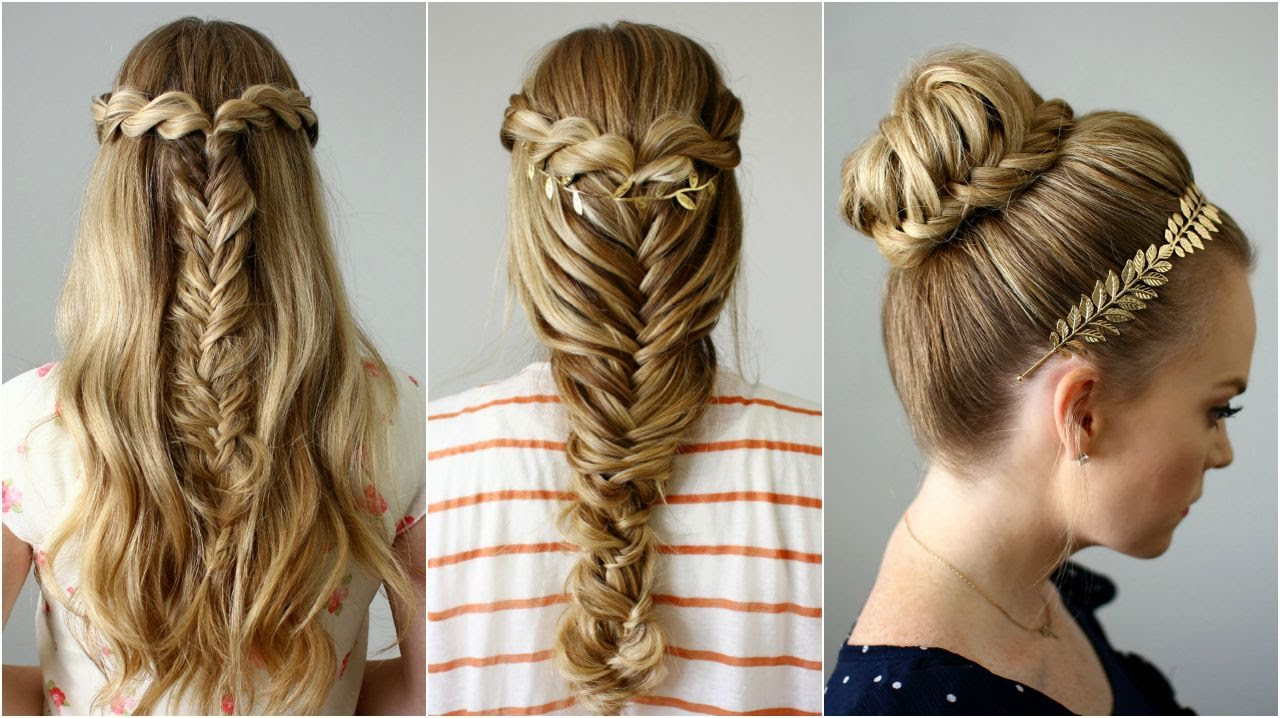 Hairstyle Gallery : Back to School Hairstyles Missy Sue - YouTube
