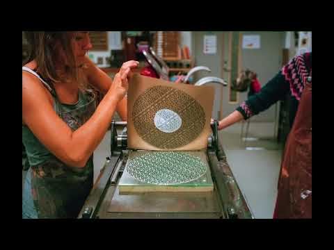 Bibio - Phantom Brickworks - Sleeve Printing