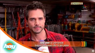 José Ron responde a críticas sobre pleito con Cristián de la Fuente | Hoy