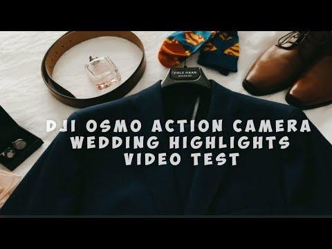 #Dji #DjiOsmoAction #Cinematic Dji Osmo Action Camera | Cinematic Video For Wedding