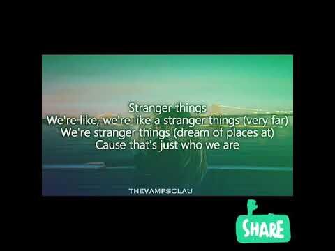 Kygo- Stranger Things ft. One Republic (lyrics)