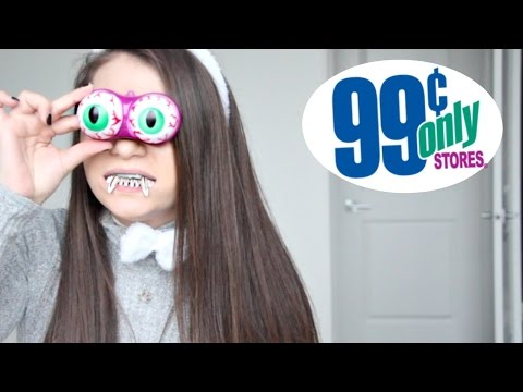 99 Cent Store Product Testing! (Halloween Edition)