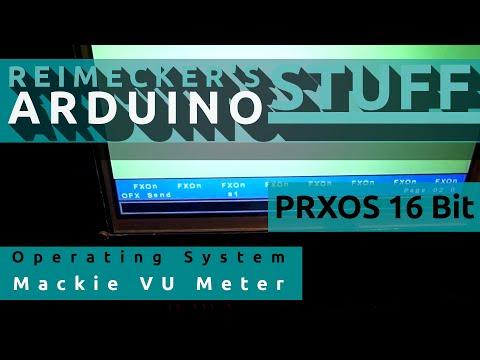 Prxos // Mackie Control & HUI Display // BCF 2000 Behringer (Arduino)