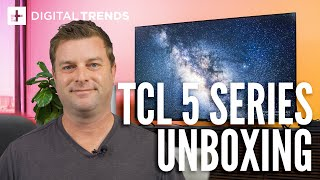 TCL 5-Series 4K UHD TV Unboxing, setup, and impressions