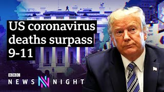 How President Trump is reacting to the coronavirus pandemic - BBC Newsnight