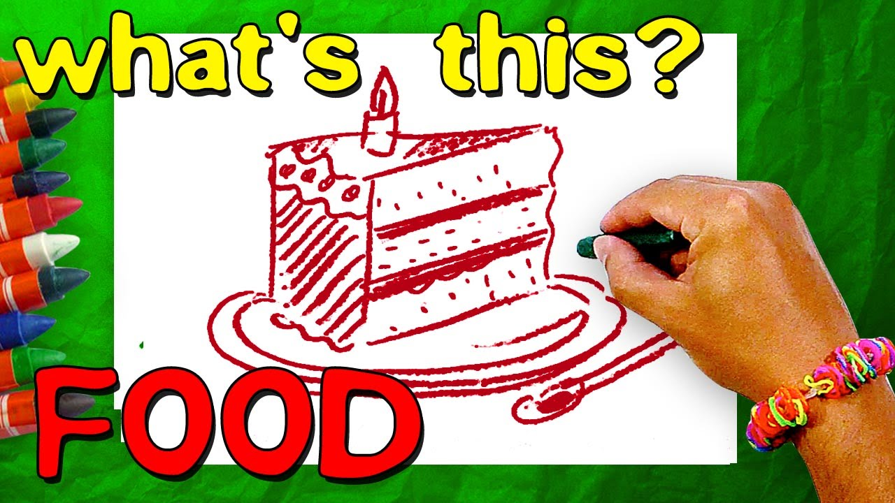 What\'s This? (Food) Riddles & Puzzles for Children - YouTube