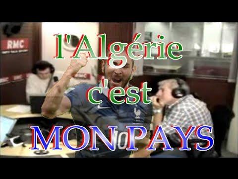 La France pour le sportif, L'Algérie MON PAYS - Karime BENZEMA sur RMC