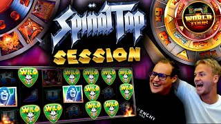 Crazy Slot Session on Spinal Tap slot (BIG WIN)