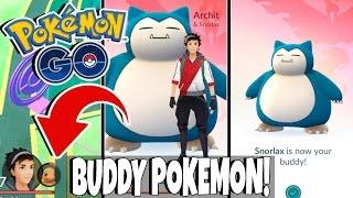Pokemon GO UPDATE! BUDDY POKEMON!! Easy Pokemon Candies By Walking!! How Buddy Pokemon Works!